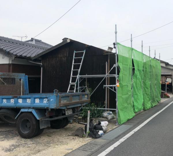 有福様邸 スレート倉庫改修工事_200527_0001.jpg