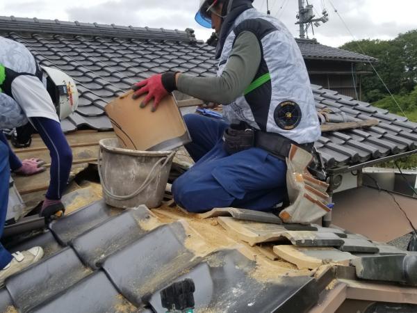 原田勝様邸ポリカ、WDなど外装工事_210701_1.jpg