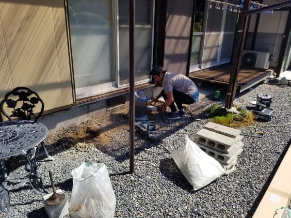 原田様邸ウッドデッキ二期工事_210810_1.jpg